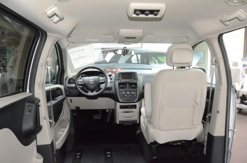 2012 Dodge Grand Caravan Front Seat View