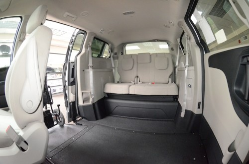 2012 Dodge Grand Caravan Inside Back Right Veiw View