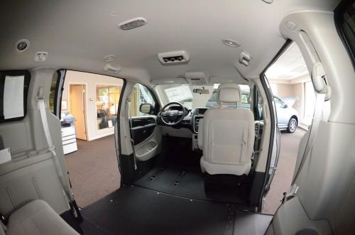 2012 Dodge Grand Caravan Inside Front Left Veiw View