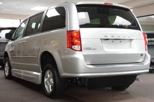 2012 Dodge Grand Caravan Rear Left Side Veiw