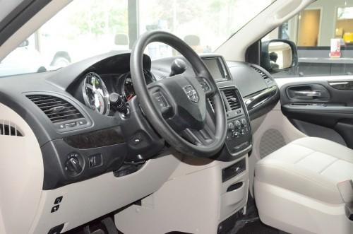 2012 Dodge Grand Caravan  Steering Wheel and Dash  Side View