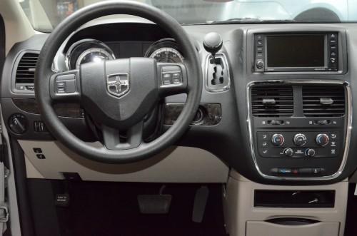 2012 Dodge Grand Caravan  Steering Wheel and Dash View