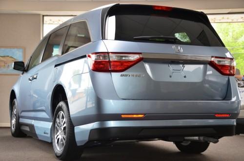 2012 Honda Odyssey  CB024644 Rear Left Side View