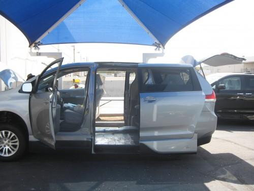 What a great looking Toyota Sienna Wheelchair van
