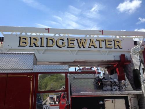 Bridgewater touch a truck firetruck