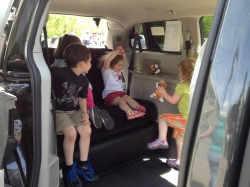 sullivan tire tuch a truck event kids in a wheelchair van