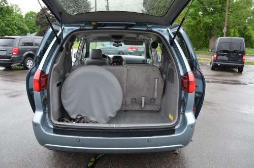 2005 Toyota Sienna XLE Limited Braun Entervan 5S383443 trunk Open