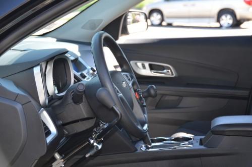 2013 GM Equinox Hand Controls Boston Amputee Driving Controls