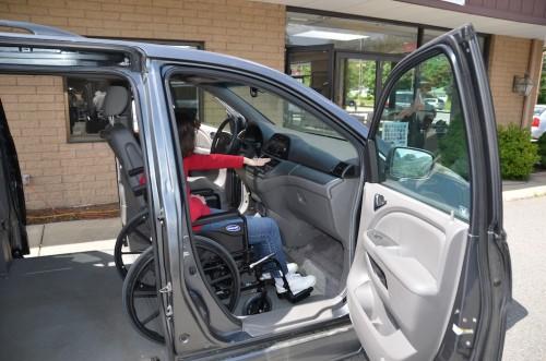 Honda Wheelchair Van Fitting