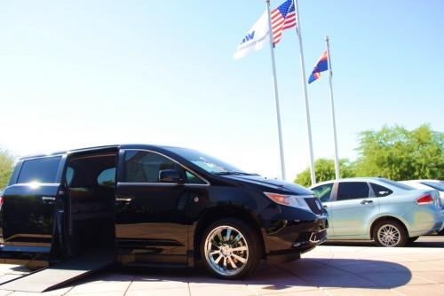 VMI Honda Odyssey Patriot Edition Van