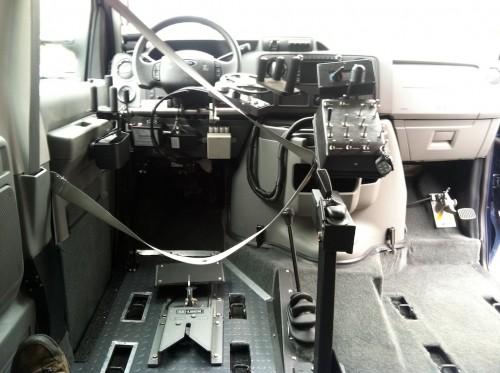 Ford Wheelchair Driver Van 4x4