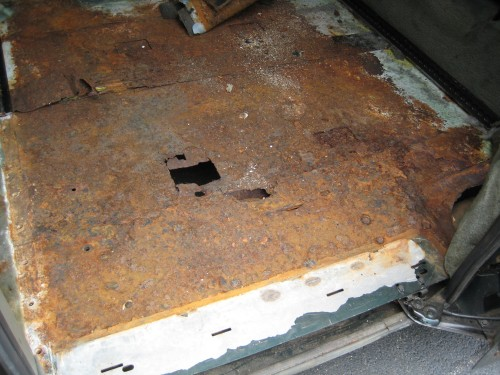 Braun Entervan New England rust