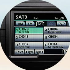 Toyota Sienna Sirius XM Radio