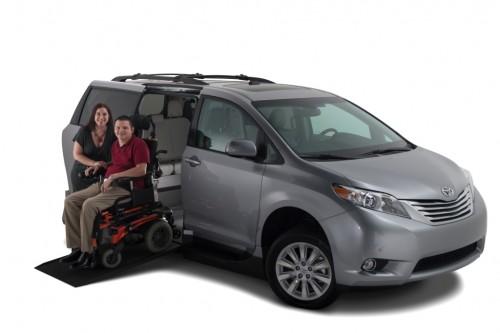 Wheelchair Van Massachusetts VMi New England Toyota Sienna Northstar