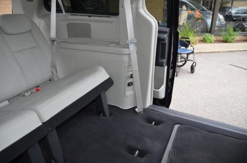 2010 Chrysler T&C No Conversion 2A4RR8DX4AR421854 interior rear seats