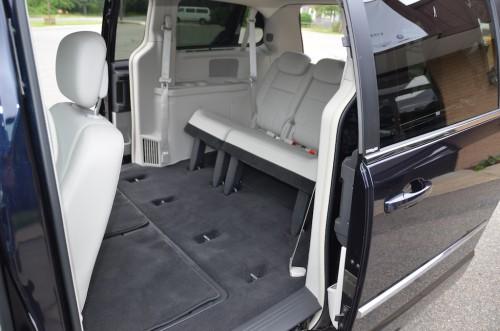 2010 Chrysler T&C No Conversion 2A4RR8DX4AR421854 interior rear view