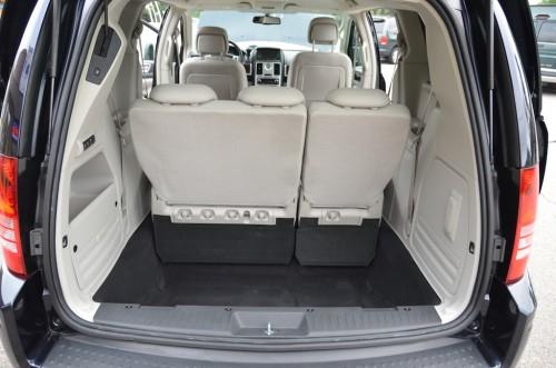 2010 Chrysler T&C No Conversion 2A4RR8DX4AR421854 trunk open seats up view