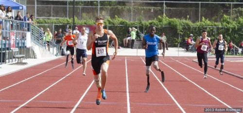 David Prince broke his own world record on Sunday in San Antonio, Texas.