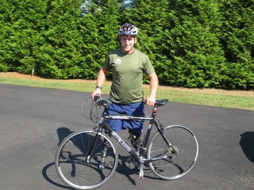 Rob Jones Journey -  Marine Veteran Cross Country Bike Trip