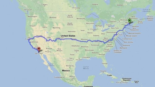 Rob Jones cross-country bike trip journey