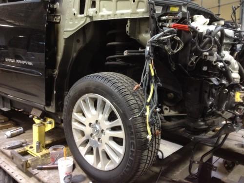 Wheelchair Van Auto Body Repairs