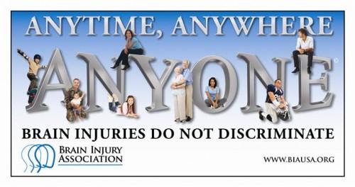 Brain Injury Awareness Month - March 2014