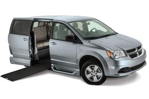Dodge Grand Caravan With the Northstar Power In floor Ramp