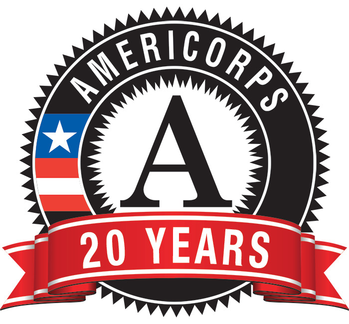 Happy 20th Birthday AmeriCorps!