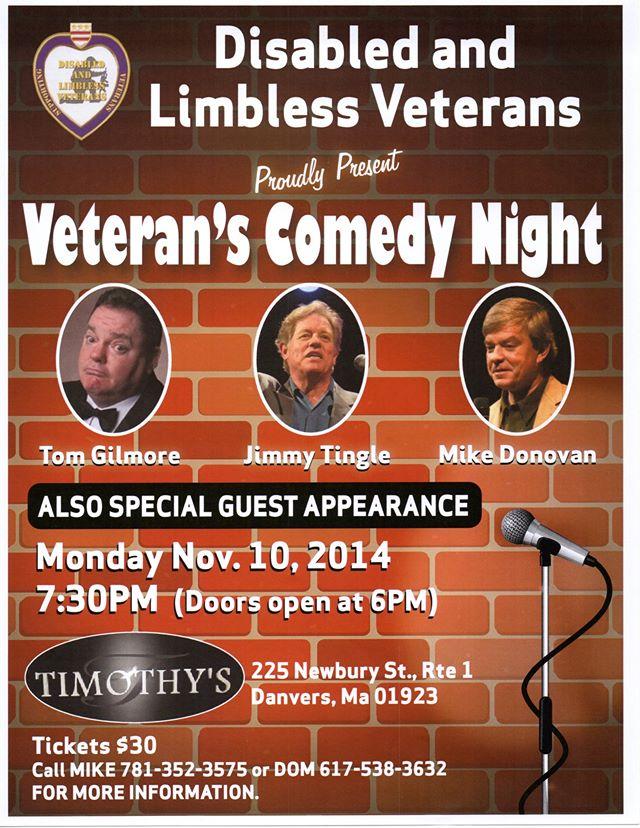 vet comedy night