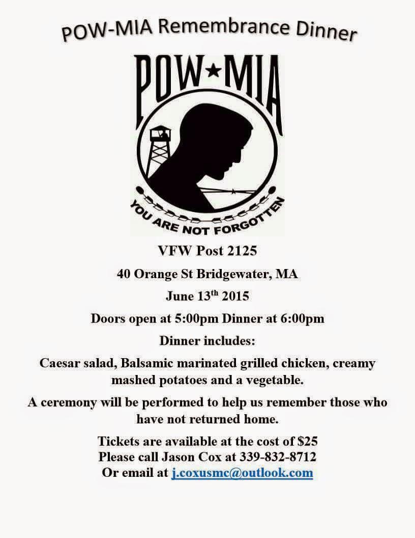 Bridgewater's POW Remembrance Dinner