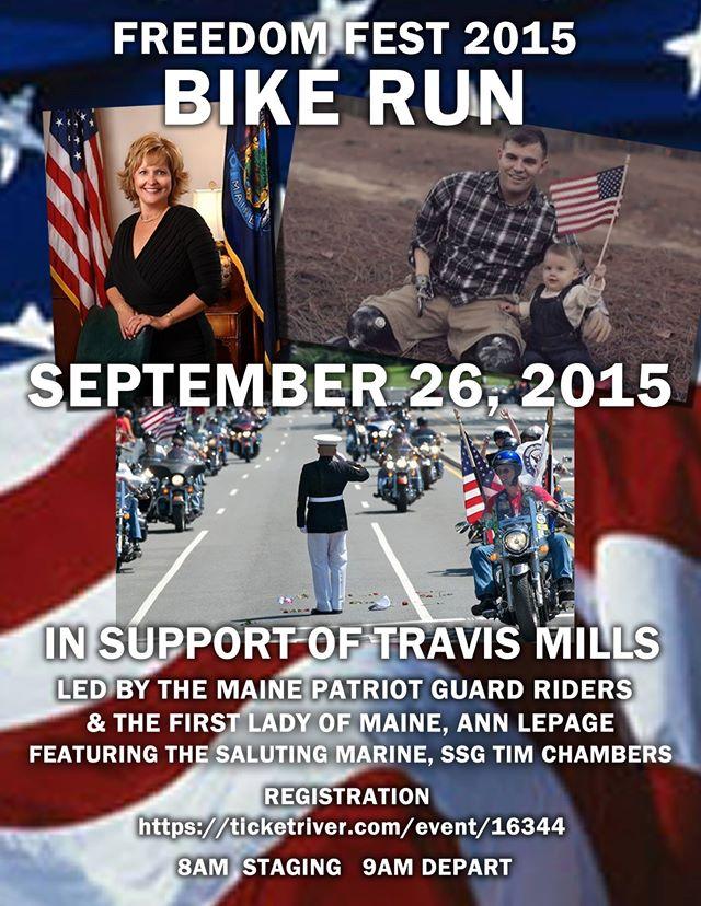 Freedom Fest 2015 Bike Run